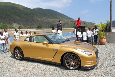Usain Bolt Golden Again With Unique Nissan GT-R