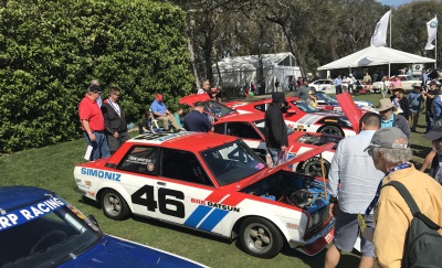 Nissan GTP-ZX Wins Class At Amelia Island