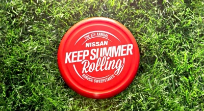 NISSAN GIVES DRIVERS A CHANCE TO ENJOY GREAT SERVICE AND WIN WITH 'KEEP SUMMER ROLLING SERVICE SWEEPSTAKES®'