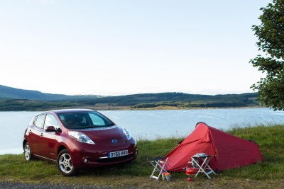 NISSAN LEAF GOES THE DISTANCE IN A WILD DRIVE ACROSS EUROPE