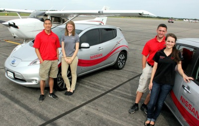 NISSAN DONATES TWO ALL-ELECTRIC LEAFS TO OHIO STATE'S COLLEGE OF ENGINEERING