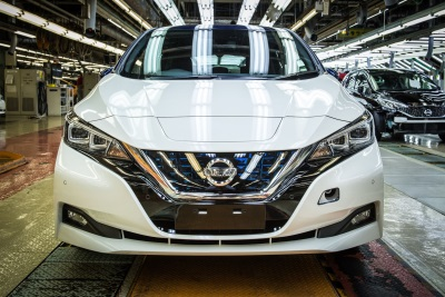 Production Of New Nissan Leaf To Begin In US And UK