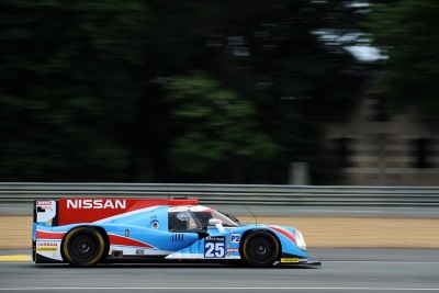 NISSAN GEARS UP FOR LE MANS 2016