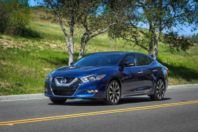 NISSAN MAXIMA NAMED 2016 STRATEGIC VISION TOTAL QUALITY IMPACT (TQI) WINNER IN FULL-SIZE CAR SEGMENT