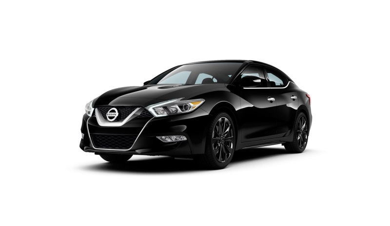 2016 MAXIMA SR MIDNIGHT EDITION ADDS SPORTY STEALTH APPEARANCE AT A HIGH-VALUE $1,195 PACKAGE PRICE