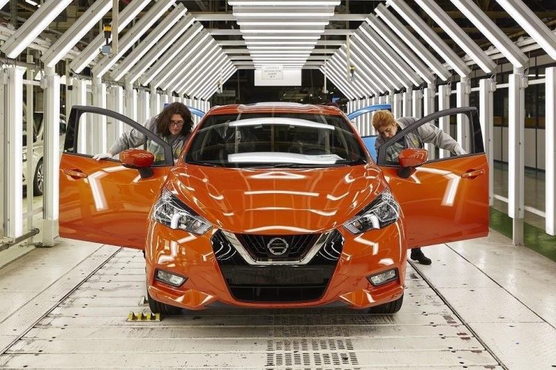 PRODUCTION OF ALL-NEW NISSAN MICRA BEGINS