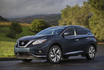 2015 NISSAN MURANO NAMED U.S. NEWS 'BEST 2-ROW SUV FOR FAMILIES'