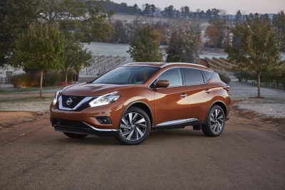 NISSAN MURANO NAMED 'BEST MIDSIZE SUV OF 2016' BY CARS.COM AND MOTORWEEK
