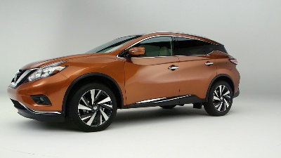 2015 Nissan Murano and Versa Sedan debut at 2014 New York International Auto Show