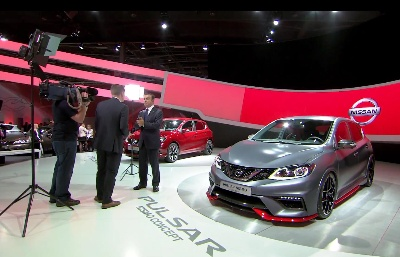 THE POWER OF PULSAR AT THE PARIS MOTOR SHOW