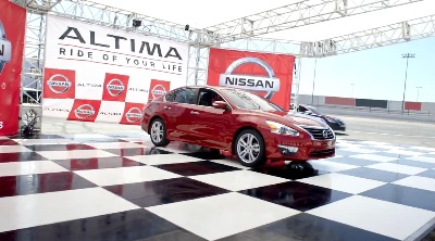 NISSAN'S 'RIDE OF YOUR LIFE™' ALTIMA CAMPAIGN RETURNS BIGGER AND BETTER IN SECOND YEAR