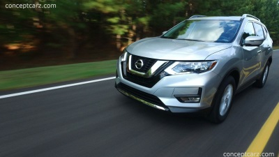 NISSAN ROGUE NAMED '2017 FAMILY CAR OF THE YEAR' BY CARS.COM