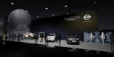 Nissan Brings Rogue One Star Wars Limited Edition Vehicles And Special Appearances By Stormtroopers To Chicago Auto Show
