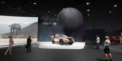 Nissan Brings Star Wars Excitement To The 2017 New York International Auto Show
