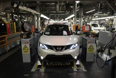 Nissan product offensive to propel production to record levels in Europe