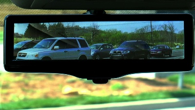 VIDEO REPORT: TAKE A LOOK AT HOW NISSAN'S SMART REARVIEW MIRROR CHANGES WHAT YOU SEE