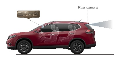 NISSAN DEBUTS 'SMART REARVIEW MIRROR' ON ROGUE AT NEW YORK AUTO SHOW