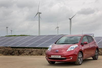 NISSAN SWITCHES ON SOLAR FARM TO POWER UK CAR PRODUCTION