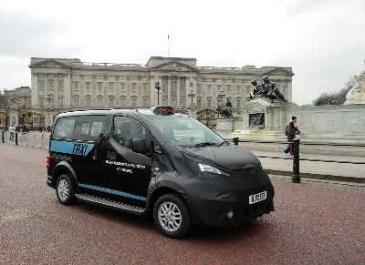 Street Level : Nissan's Taxi Hits London