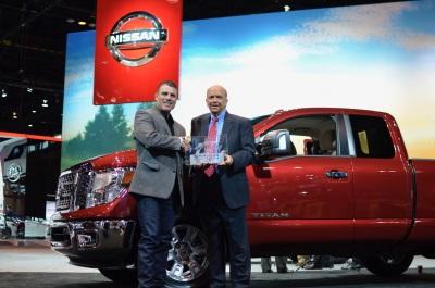 Nissan Titan Named 2017 Motorweek Drivers' Choice Award Winner For Best Pickup Truck