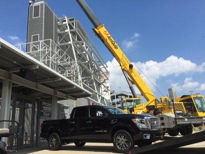 2016 NISSAN TITAN XD GETS SPECIAL 'RESERVED PARKING SPACE' ATOP TENNESSEE TITANS' NISSAN STADIUM