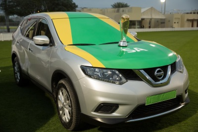 Around The World In 100 Days – Nissan Sets Off The ICC Champions Trophy Tour On Its Journey To The UK