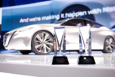 NISSAN VMOTION 2.0 WINS EYESON DESIGN AWARD FOR BEST CONCEPT VEHICLE AT NORTH AMERICAN INTERNATIONAL AUTO SHOW
