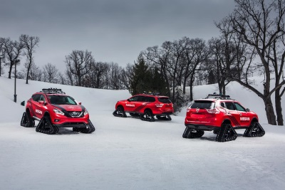 NISSAN UNLEASHES TRIO OF AGGRESSIVE 'WINTER WARRIOR' CONCEPTS JUST IN TIME FOR THE CHICAGO AUTO SHOW