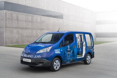 ZERO EMISSION NISSAN VEHICLES SET TO ELECTRIFY MILAN AT UEFA CHAMPIONS LEAGUE FINAL
