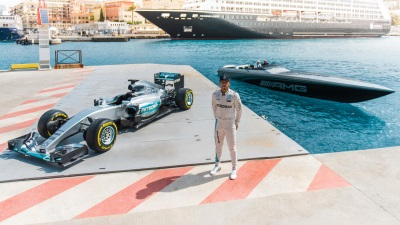 ONE STAR - TWO WORLDS WITH NICO ROSBERG AND LEWIS HAMILTON