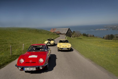 Strong Opel Display at the Bodensee-Klassik