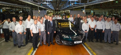 Opel starts production of the new Insignia in Rüsselsheim