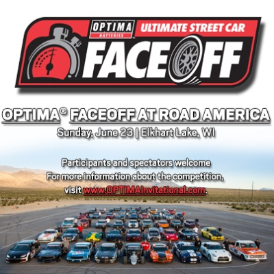 OPTIMA® Batteries Hosts Faceoff Event at Road America