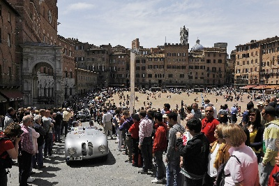The BMW 328: Driving to victory for 75 years. BMW Group Classic at the 2013 Mille Miglia.