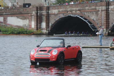 MINI CONVERTIBLE BOAT TO JOIN DAD VAIL REGATTA