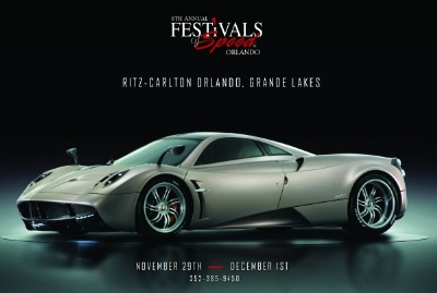 Pagani Huayra Carbon Edition Supercar to Display at the 8th Annual Festivals of Speed Orlando
