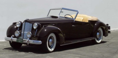 Clark Gable's 1938 Packard Darrin to Compete In Palos Verdes Concours d'Elegance