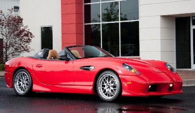 2015 PANOZ 25TH ANNIVERSARY EDITION ESPERANTE SPYDER ON DISPLAY AT GORDON MCCALL'S MOTORWORKS REVIVAL