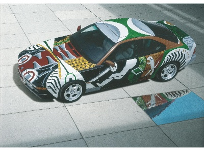 PARIS PHOTO LOS ANGELES PRESENTS DAVID HOCKNEY'S BMW ART CAR
