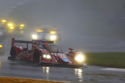 RAIN-STREWN PETIT LE MANS ENDS EARLY DUE TO WEATHER CONDITIONS