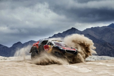 COUNTDOWN TO THE SILK WAY RALLY: THE THREE PEUGEOT 2008 DKRs READY TO DISCOVER NEW HORIZONS