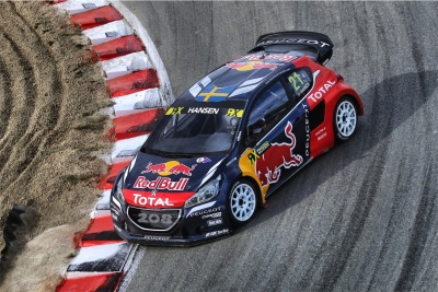 THE PEUGEOT 208 WRX READY FOR SPANISH ACTION IN BARCELONA. OLÉ!