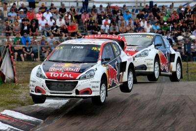 Sweden Brings The Peugeot 208 WRX And Sébastien Loeb More Podium Success