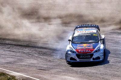 The Peugeot 208 WRX Squad Heads For France's Rallycross Classic