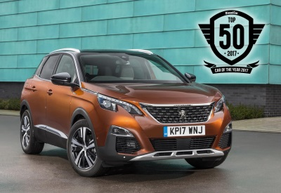 All-New Peugeot 3008 SUV Honoured In The Diesel Car Top 50 Awards