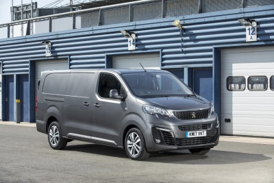 Peugeot Expert Wins 'Best Newcomer' In The 2017 Trade Van Driver Awards