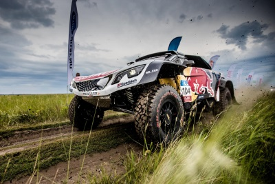 Peugeot DKR Maxi: 3Rd Victory On 4Th Stage On Silk Way Rally Epic Day