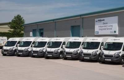 400Th Peugeot Van Joins Millbrook Healthcare Fleet