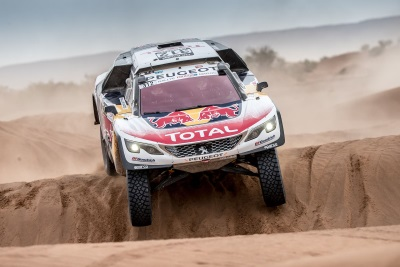 Tough But Productive Penultimate Stage For Peugeot On Rallye Du Maroc
