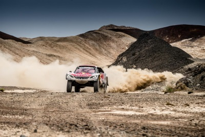 Peugeot Team Spirit Is High As Despres Consolidates Silk Way Rally Leadership